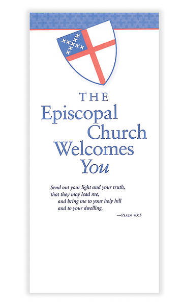 The Episcopal Church Welcomes You Brochure [Pack of 25]