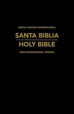 Picture of NVI / NIV Spanish/English Bible Black Leatherlike