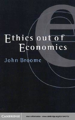 Ethics out of Economics [Adobe Ebook]