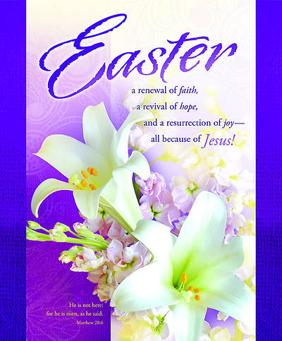 Easter Lily Bulletin Large  (Package of 100)
