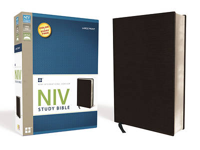 New International Version Study Bible, Large Print