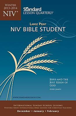 Standard Lesson Quarterly NIV Bible Student Large Print Winter 2013-2014