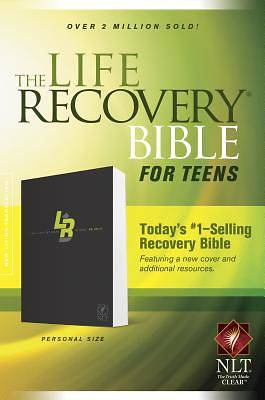 Picture of Life Recovery Bible for Teens-NLT-Personal Size