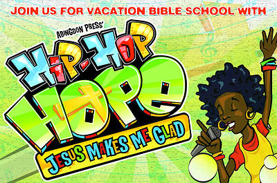 Vacation Bible School 2013 Hip-Hop Hope Pkg 25  Invitation Postcard VBS