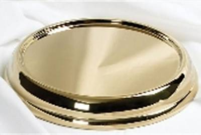 Brass Stacking Bread Plate Base