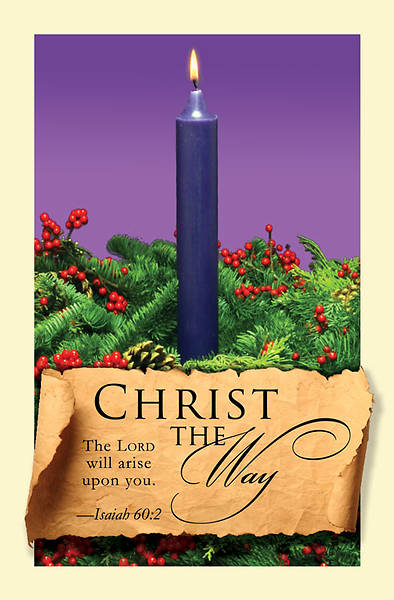 Advent Purple Sunday 1 Bulletin 2011, Regular (Package of 50)