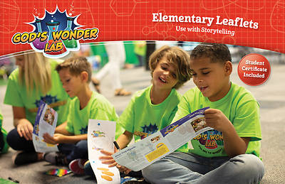 Picture of Vacation Bible School VBS 2021 God's Wonder Lab Elementary Leaflets