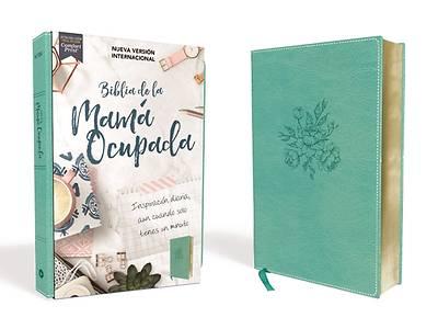 Picture of NVI Biblia de la Mamá Ocupada, Leathersoft, Truquesa, Edición Letra Roja