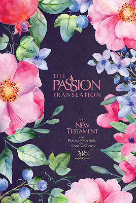 Picture of The Passion Translation New Testament (2020 Edition) Berry Blossom