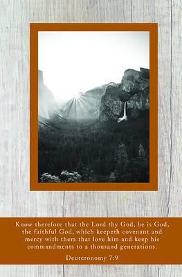 Picture of Faithful God Bulletin (Pkg 100) Legacy