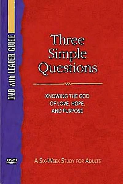 Picture of Three Simple Questions DVD with Leader Guide