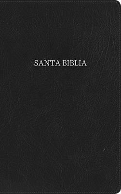 Picture of NVI Biblia Ultrafina, Negro Piel Fabricada Con Índice