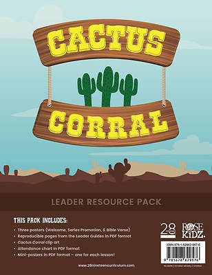 Picture of 28nineteen Cactus Corral Leader Resource Pack