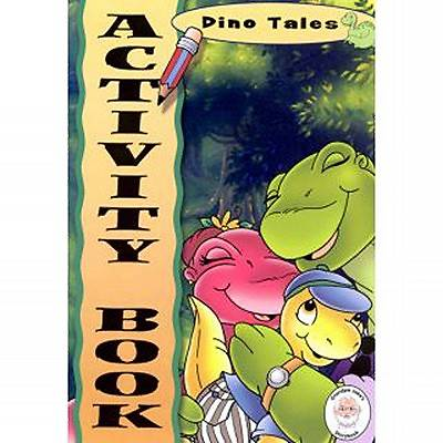 Dino Tales Activity Book