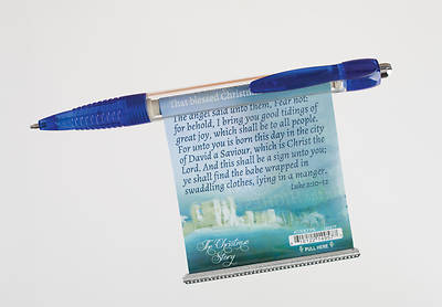 Glory to the Newborn King Pull Out Banner Pen