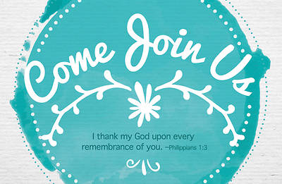 Picture of Come Join Us General Postcard