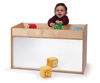 I-See-Me Mirrored Toddler Storage Cabinet