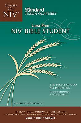 Standard Lesson Quarterly NIV Bible Student Large Print Summer 2014