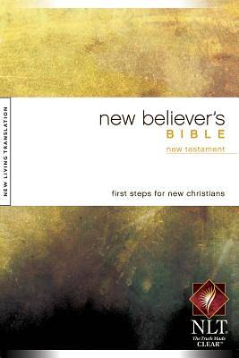 Picture of New Believer's New Living Translation New Testament Bible