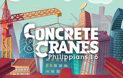 Picture of Vacation Bible School (VBS) 2020 Concrete and Cranes Postcards Pkg 50