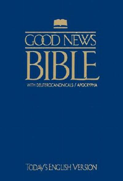 Picture of Good News Bible with Deuterocanonicals/Apocrypha-TEV