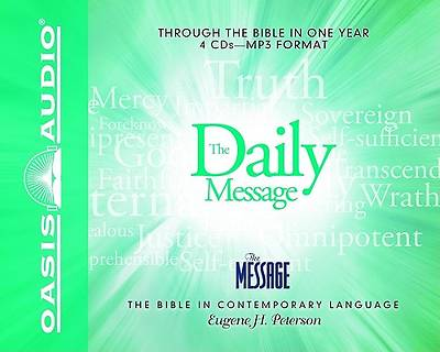 The Daily Message: Through the Bible in One Year MP3