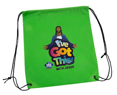 Picture of Vacation Bible School VBS 2021 I've Got This! With Jesus  Drawstring Bags  (12 Pk)