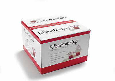Fellowship Cup Communion Wafer & Juice 250 Pack