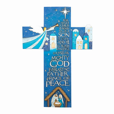Picture of For Unto You Nativity Wall Cross