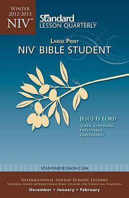 Standard Lesson Quarterly NIV Bible Student Large Print Winter 2012-13