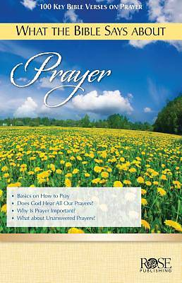 What the Bible Says about Prayer 5pk