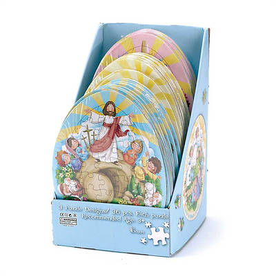 Easter Assorted  Puzzle  40 pieces 11x8.5