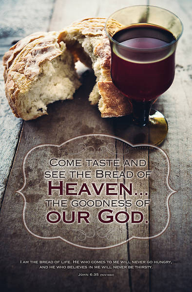 Bread of Heaven Communion Bulletin