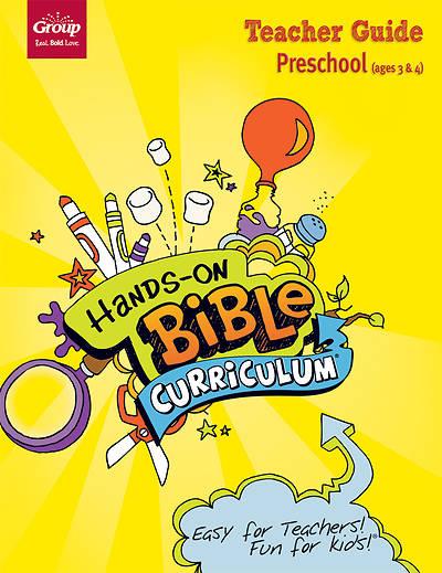 Picture of Hands-On Bible Curriculum Preschool Teacher Guide Fall 2016