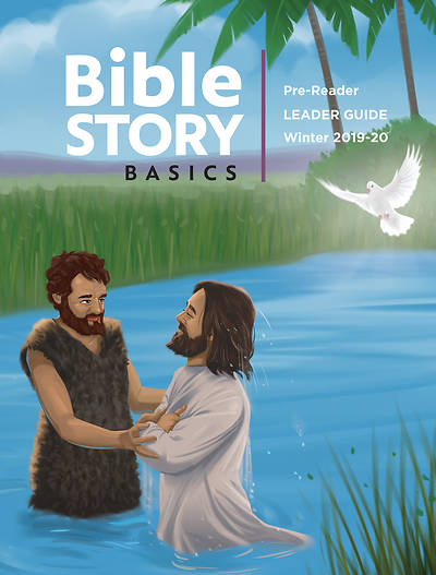 Picture of Bible Story Basics Pre-Readers Leader Guide Winter 2019-2020