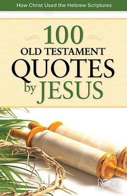 Picture of 100 Old Testament Quotes by Jesus 5 Pack