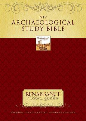 Zondervan Archaeological Study Bible New International Version