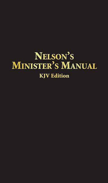 Picture of Nelson's Minister's Manual KJV