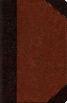 ESV New Classic Reference Bible (Trutone, Brown/Cordovan, Portfolio Design)