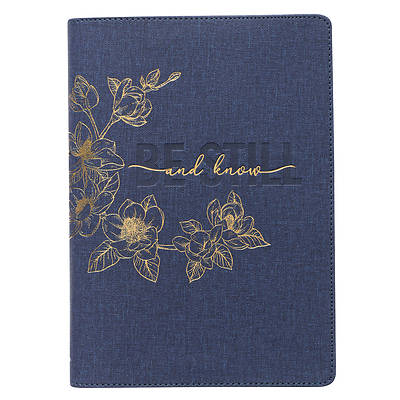Picture of Journal Classic Zip Be Still