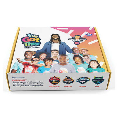 Picture of Vacation Bible School VBS 2021 I've Got This! With Jesus Planning Kit