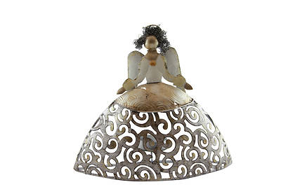 Angel Candle Holder  8.25