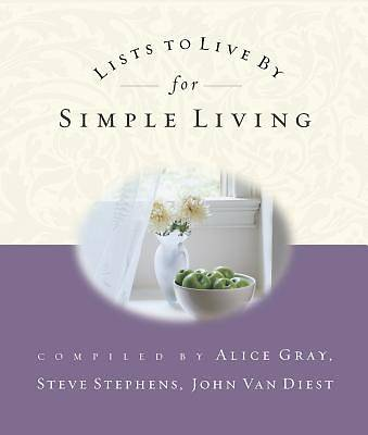 Picture of Lists to Live by for Simple Living