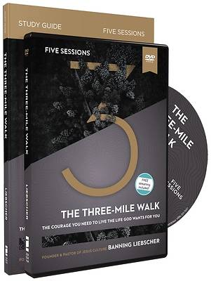 Picture of The Three-Mile Walk Study Guide with DVD
