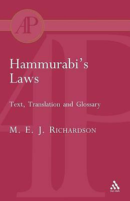 Picture of Hammurabi's Laws