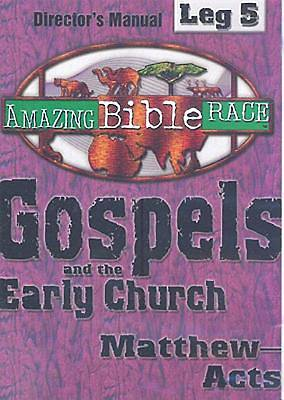 Amazing Bible Race, Directors Manual, Leg 5 CDROM