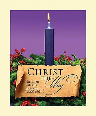 Advent Purple Sunday 1 Bulletin 2011, Large (Package of 50)