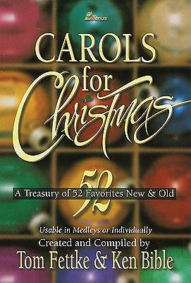 Carols for Christmas; Christmas Choral Music Book