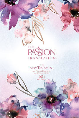 Picture of The Passion Translation New Testament (2020 Edition) Passion in Plum