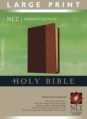 Large Print Compact Edition New Living Translation Bible